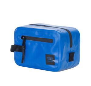 NWT Herschel Supply Chapter Travel Kit Blue Tarpauline
