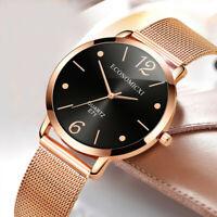 Fashion Women's Casual Bracelet Watch Quartz Mesh Belt Band Analog Wrist Watches