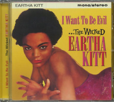 WICKED EARTHA KITT-I WANT TO BE EVIL-IMPORT CD WITH JAPAN OBI F04
