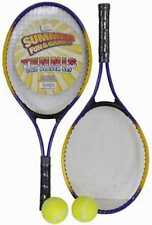 Summer Fun and Games Tennis Two player set, 2 rackets, 2 balls, 1 carry case