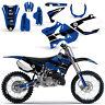 Yamaha YZ125 YZ250 Graphic Kit Dirt bike YZ 125 250 Deco 2002-2014 HURRICANE BLU