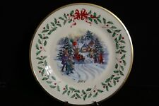 Lenox Santa Parade 2001 For the Holidays Annual Chistmas Collector Plate
