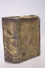 Missel cuir old Cath. Missal book leather very old probablement 17./18.jh.