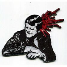 Bullet (Misfits) embroidered Patch - Punk - Iron On - Free Shipping!
