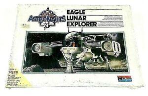 Eagle Lunar Explorer Monogram Astronauts Young Model Kit Sealed  RARE