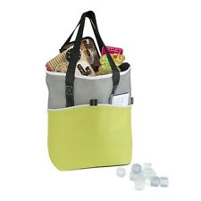 LARGE KOOZIE SUPERMARKET SHOPPING BASKET TOTE COOL BAG COOLER INSULATED LAYER