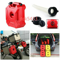 Portable Fuel Tank Jerry Cans Spare Plastic Petrol Tanks For Auto Motorcycle 3L