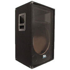 Seismic Audio - Empty 15 Inch PA / DJ / Band Speaker Cabinet with Titanium Horns