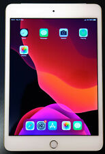 Apple iPad mini 4 16GB, Wi-Fi + Cellular (Unlocked), Gold, near Mint cond.