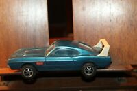 Rare Vintage PROCESSED PLASTICS Toy Winged 1970 MUSTANG MACH 1 with WING