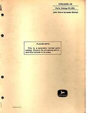 John Deere Tractor Parts Catalogues