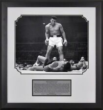 Muhammad Ali Over Sonny Liston 16x20 Photo in Framed Presentation With Plate