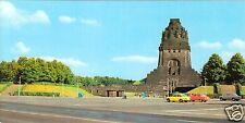 AK lang, Leipzig, Blick zum Völkerschlachtdenkmal, 1984