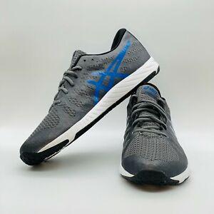 Asics Nitrofuze TR 9001 S614N Grey Blue Training Shoes Men's Size 11 Amazing