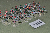 25mm 19th century / franco prussian -  infantry 23 figs metal - inf (9302)