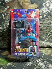 RARE NIB SEALED HTF Toybiz Marvel McFarlane Snap-Shot Spider-man Series 10 2004