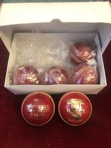 6 x Grade A Test Quality Colt Youth Junior 4 3/4oz Cricket Balls New Unused
