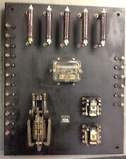 Very Rare Antique Vintage Wheelock Signal Compete Fire Alarm Panel Steam Punk !