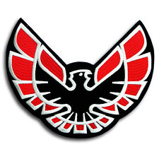 BIG Size Firebird Patch  Iron on Badge Emblem applique Pontiac Trans Am Racing