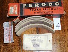 Vintage Standard, Jowett (Commercial) Ferodo Brake Linings B4BP/85/1 Boxed Set 4