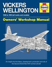 Vickers RAF Wellington Haynes Owners Workshop Manual Book