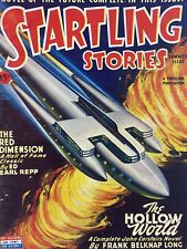 STARTLING STORIES Summer 1945 pulp magazine vintage Science fiction $.15