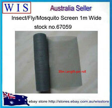 100ft 30m Inset Flywire Window Fly Scree Net Mesh Flyscreen,Insect Screen-67059