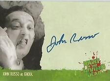 """Night of the Living Dead - A4 John Russo """"Ghoul"""" Autograph Card"""
