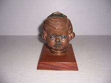 Antique Vintage Doll Head Mold Industrial Steampunk