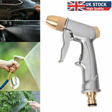 More details for high pressure water spray gun metal brass nozzle car garden lawn wash hose pipes