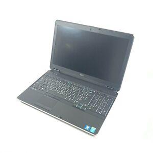 Dell Latitude E6540 Laptop I7-4610M @ 3.00GHz 8GB DDR3 256GB SSD (No Battery)