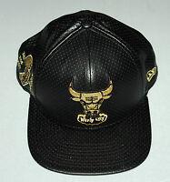 Chicago Bulls 9FIFTY Mens Hat Black Cap Snapback NBA Mesh Original Fit Ball