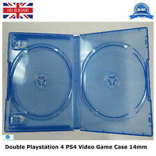Double Playstation 4 PS4 Video Game Case 14mm Replacement Cover NEW High Quality