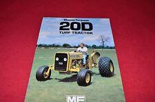 Massey Ferguson 20D Turf Tractor Dealer's Brochure Lcoh