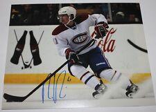 Raphael Diaz signed Canadiens 8x10 photo COA