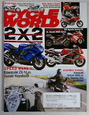 CYCLE WORLD MAGAZINE BACK ISSUE HARLEY HONDA 2006 SEPTEMBER HAYABUSA ZX AGUSTA