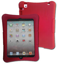 Shockproof Silicone Kid Case for iPad mini 1, 2, & 3, 7.9 inch (Red)