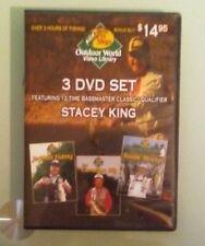 stacey king JERKBAIT FISHING / THE CAROLINA RIG / BASSIN BLOWUPS  DVD 3 disc set