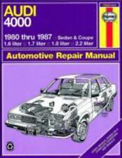 1980-1987 Haynes Audi 4000 Repair Manual