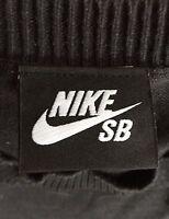 Nike SB Skateboarding Vintage Sweatshirt Black Net Original Super Rare Size XL