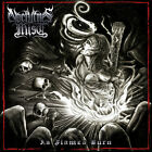 NOCTURNES MIST - 'AS FLAMES BURN' - CD Australian Symphonic Black Metal NEW