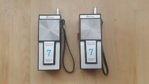 takie walkie belson BS 3307 7 transitor , jouet des annees 1970