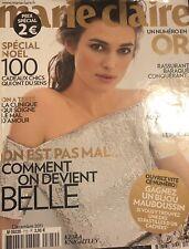 Marie Claire French Magazine (December 2011) Kiera Knightley - Travel Edition