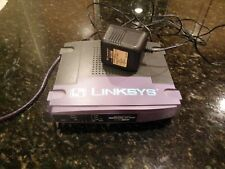 Linksys EtherFast Cable/Dsl Router With 4-Port Switch Model Befsr41 Cisco System