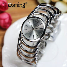 Gold Watches Women Full Stainless Steel Watches Luxury Women Bracelet Watch #1