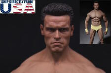 1/6 Arnold Schwarzenegger Head Sculpt 2.0 Terminator T800 For Phicen M34 Figure