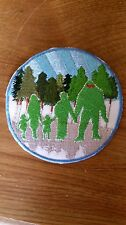 Forest Friends Bigfoot Patch
