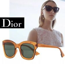 a5f1c0cc9e Christian Dior Izon 2 Diorizon 2 L7Q QT Orange Green Women Sunglasses  Authentic