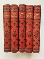 James Fenimore Cooper Leatherstocking Complete 5 Vol Prairie Mohicans Deerslayer