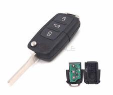 For VW PASSAT 2002-2005 Flip Remot Key Fob 433MHz 1J0 959 753 AH With ID48 Chip